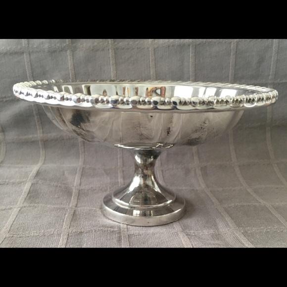 """Oneida Silverplate 6"""" Pedestal Bon Bon Bowl"""